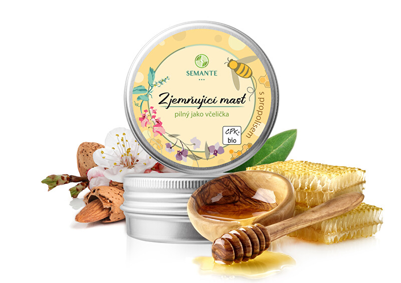 Zobrazit detail výrobku Semante by Naturalis Zjemňující mast s propolisem