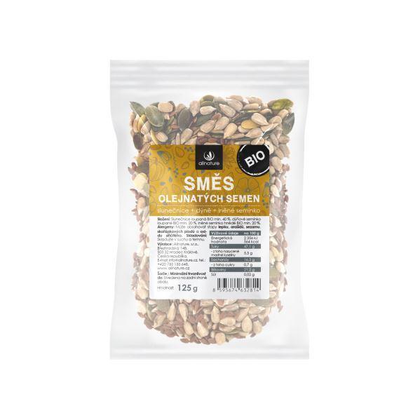 Zobrazit detail výrobku Allnature Směs semínek BIO 125 g