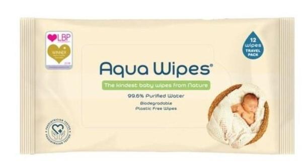Zobrazit detail výrobku Aqua Wipes EKO dětské vlhčené ubrousky, 12 ks