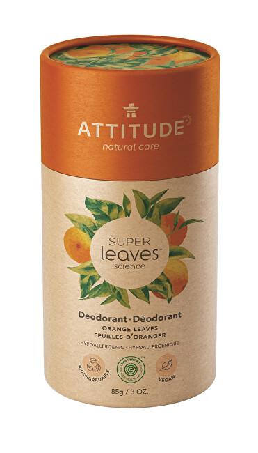 Zobrazit detail výrobku ATTITUDE Přírodní tuhý deodorant Super leaves  - pomerančové listy 85 g