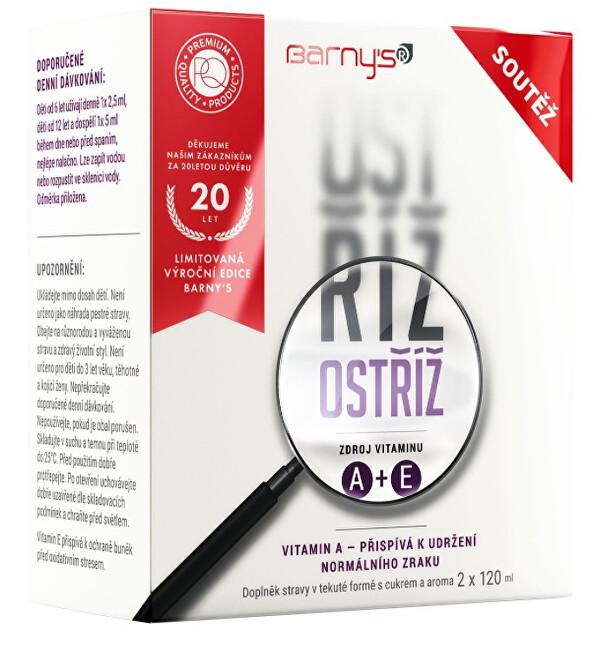 Zobrazit detail výrobku Barny´s Ostříž 2 x 120 ml Limitovaná edice