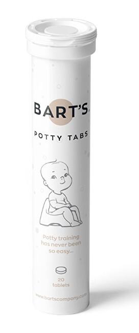 Zobrazit detail výrobku Bart`s POTTY TABS -  Tablety do nočníku, 20 ks