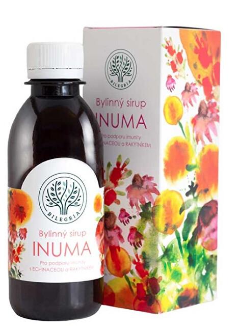 Zobrazit detail výrobku Bilegria INUMA bylinný sirup na podporu imunity s echinaceou a rakytníkem 200 ml
