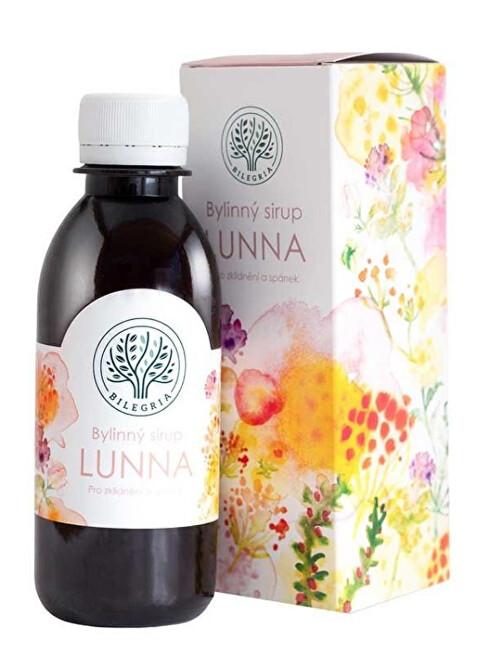 Zobrazit detail výrobku Bilegria LUNNA bylinný sirup pro klidný spánek s levandulí 200 ml