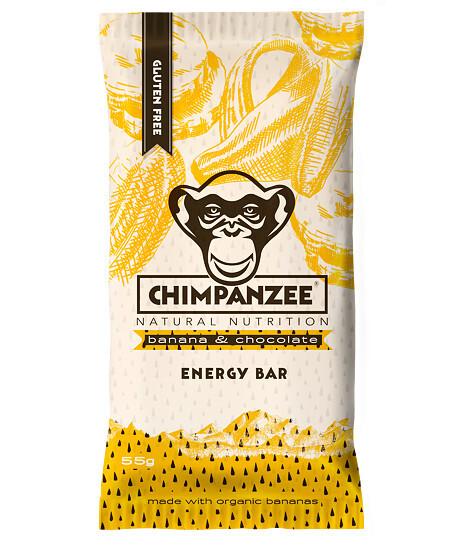 Zobrazit detail výrobku Chimpanzee Energy bar Banana Chocolate 55 g