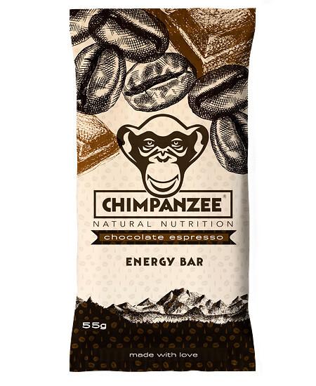 Zobrazit detail výrobku Chimpanzee Energy bar Chocolate Espresso 55 g