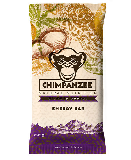 Zobrazit detail výrobku Chimpanzee Energy bar Crunchy Peanut 55 g