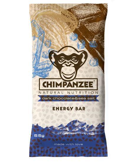 Zobrazit detail výrobku Chimpanzee Energy Bar Dark Chocolate - Sea Salt 55 g