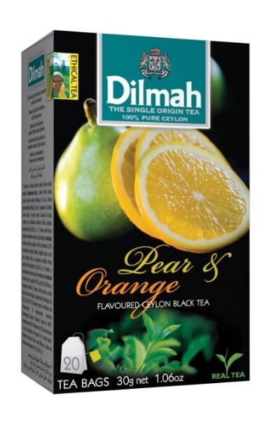 Zobrazit detail výrobku Dilmah Čaj černý, Hruška, Pomeranč 20 ks