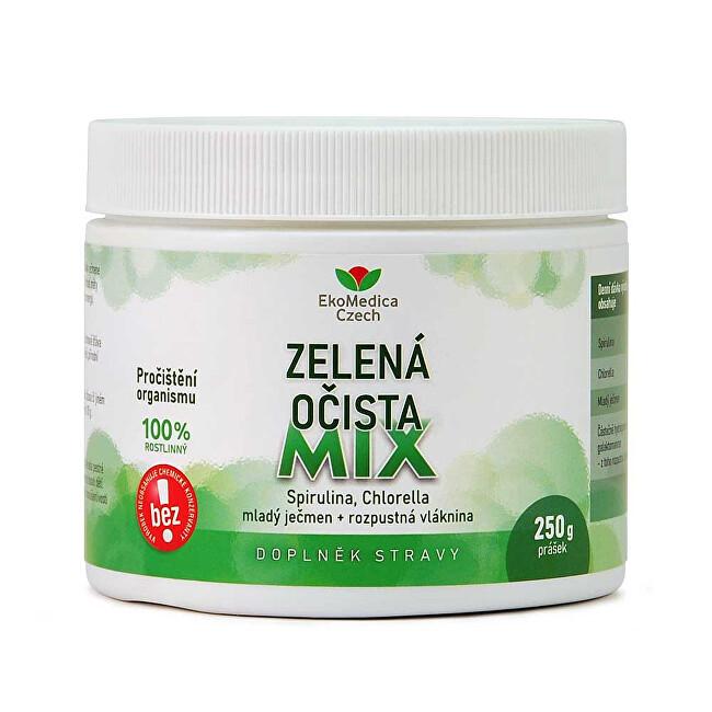 Zobrazit detail výrobku EkoMedica Czech Zelená očista mix 250 g