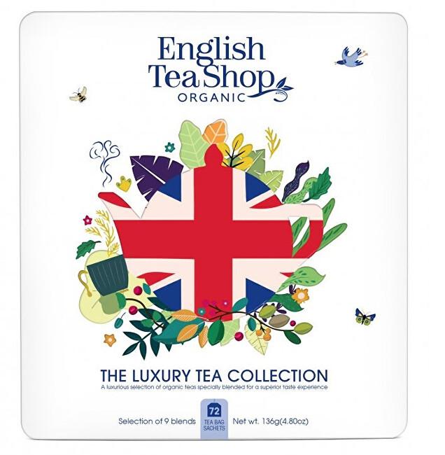 Zobrazit detail výrobku English Tea Shop Luxusní kolekce Union Jack 72 ks