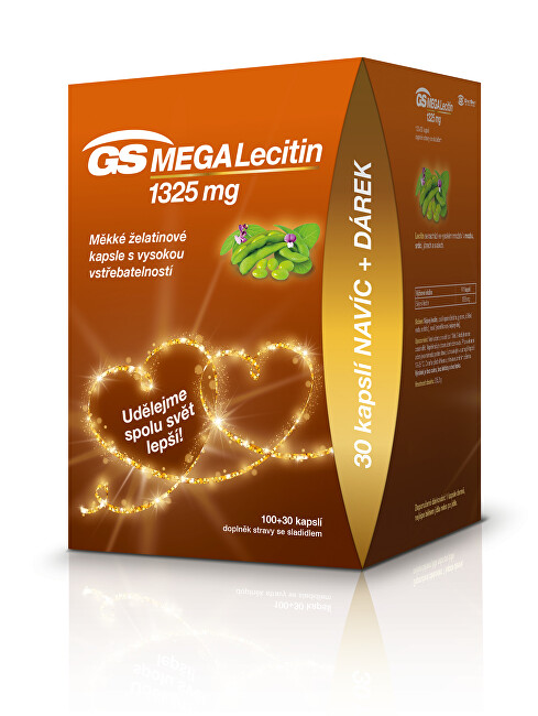 Zobrazit detail výrobku GreenSwan GS Megalecitin 1325 cps. 100+30