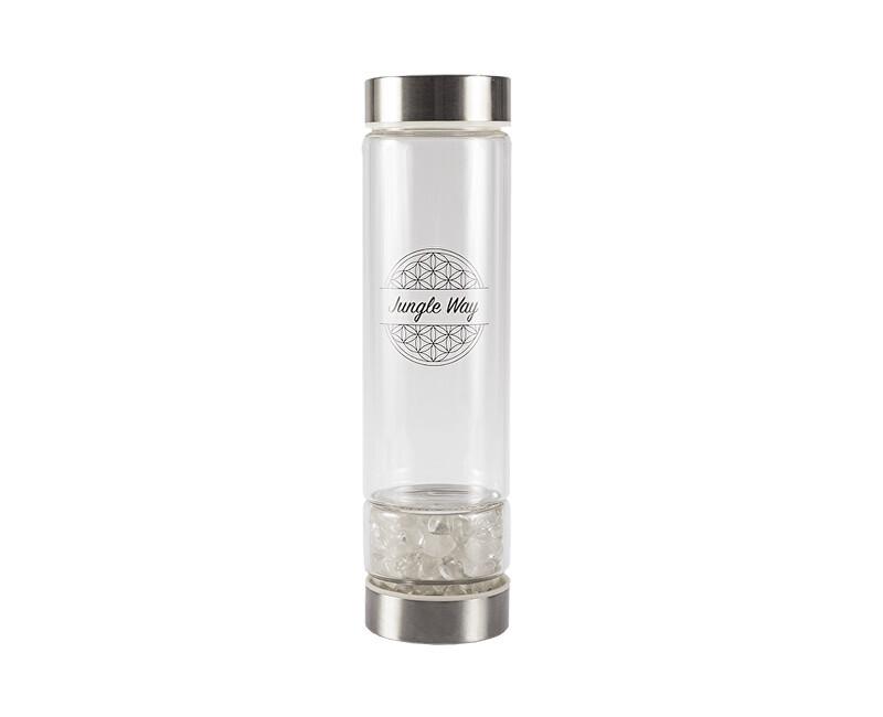 Zobrazit detail výrobku Jungle Way Skleněná láhev s křišťálem