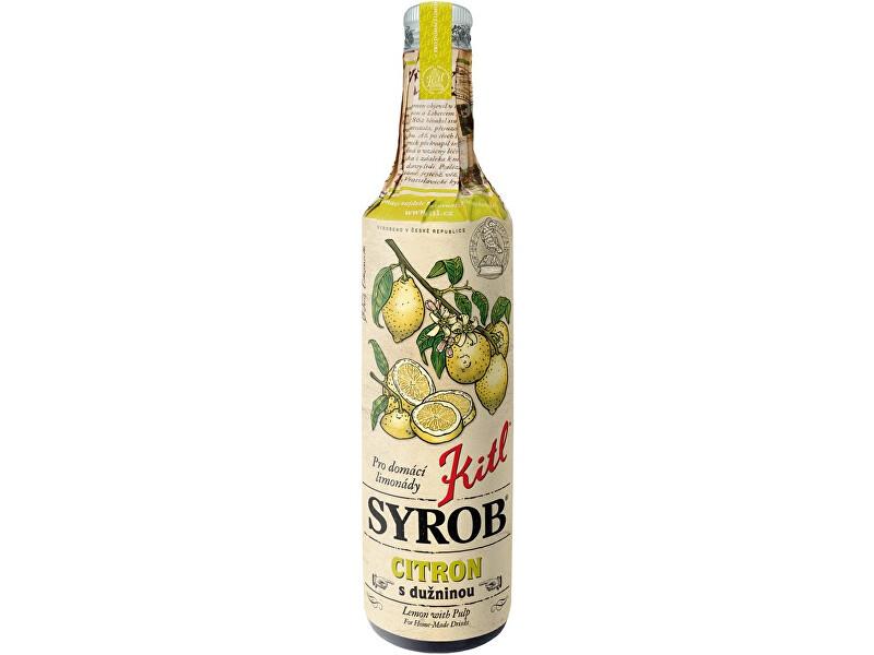 Zobrazit detail výrobku Kitl Kitl Syrob Citron s dužinou 500 ml