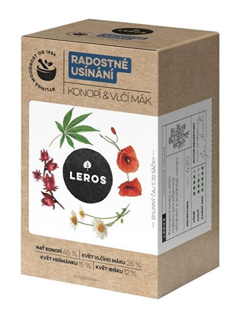 Zobrazit detail výrobku LEROS Radostné usinání - konopí, vlči mák 20 x 1 g