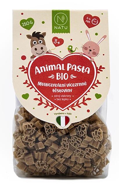 Zobrazit detail výrobku Natu Animal Pasta Multicereální vícezrnné těstoviny BIO 250 g