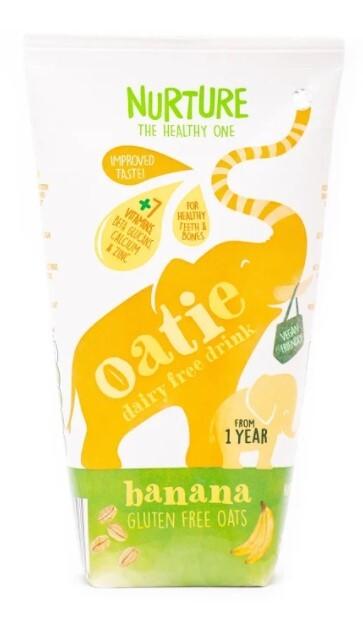 Zobrazit detail výrobku Nurture Oatie Dairy Free Drink Banana 200 ml