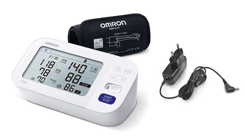 Zobrazit detail výrobku Omron Tonometr M6 Comfort (2020) + adaptér