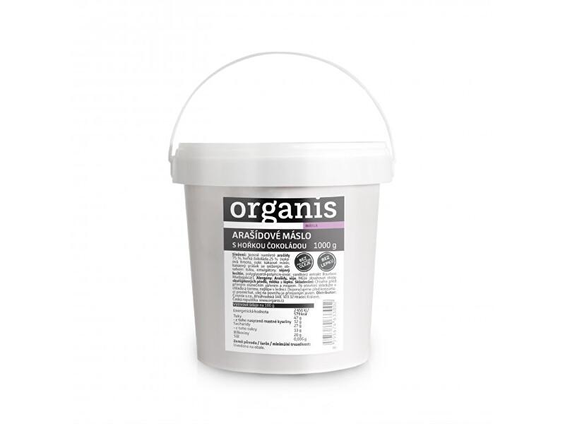 Zobrazit detail výrobku Organis Arašídové máslo s hořkou čokoládou 1000 g