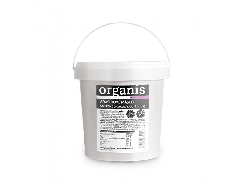 Zobrazit detail výrobku Organis Arašídové máslo s mléčnou čokoládou 1000 g
