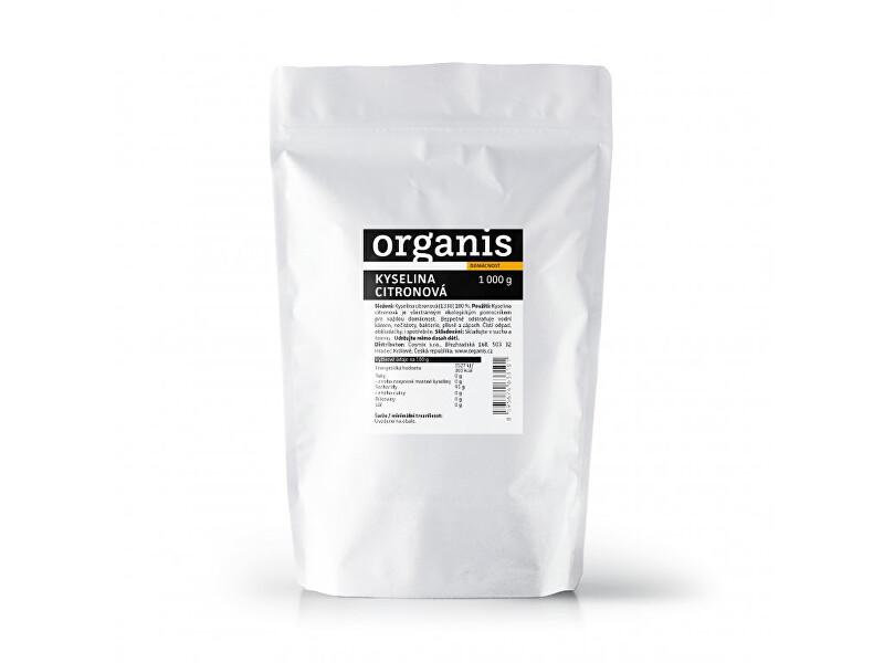 Zobrazit detail výrobku Organis Kyselina citronová 1000 g