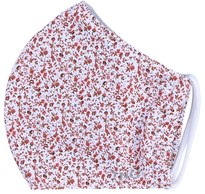 Zobrazit detail výrobku Pharma Activ TNG rouška textilní 3-vrstvá květinová 1 ks vel. S