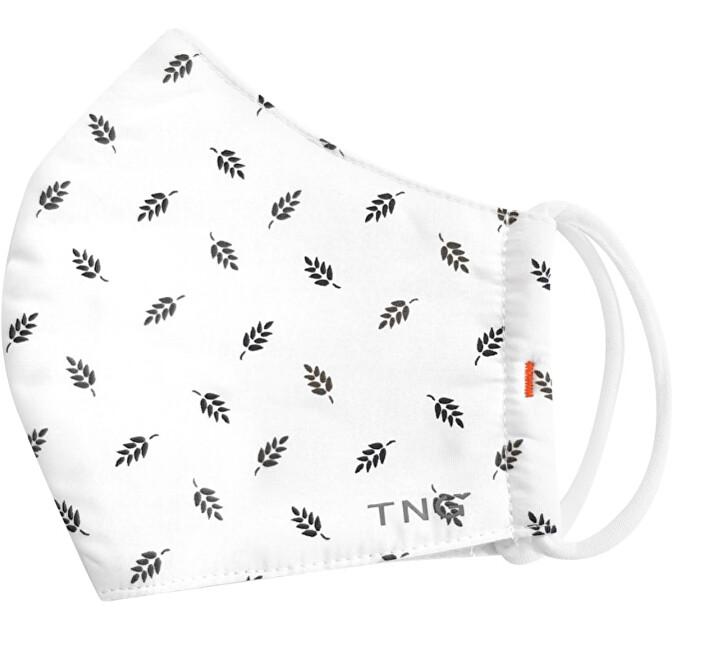 Zobrazit detail výrobku Pharma Activ Rouška textilní, 3 vrstvá, nano membrána, antibakteriální vel. M bílá vzor