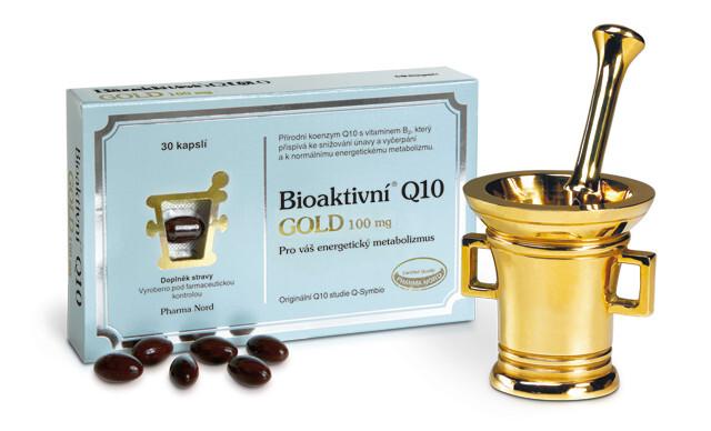 Zobrazit detail výrobku Pharma Nord Bioaktivní Q10 GOLD 100 mg 150 kapslí