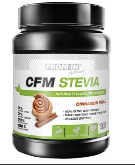 Zobrazit detail výrobku Prom-in CFM Stevia 1 kg Skořice