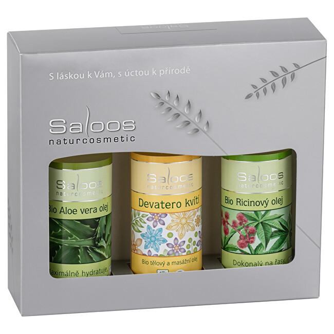 Zobrazit detail výrobku Saloos Dárkový balíček Ricin & Aloe Vera & Devatero kvítí