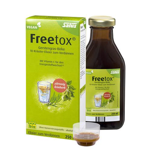 Zobrazit detail výrobku Salus Bylinné tonikum Freetox 250 ml