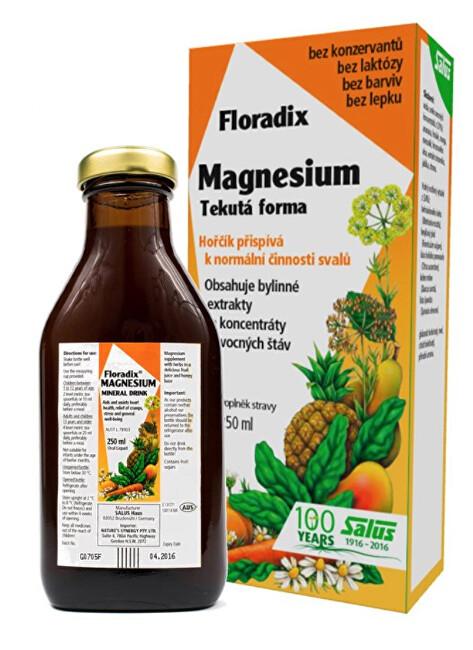 Zobrazit detail výrobku Salus Floradix Magnesium 250 ml