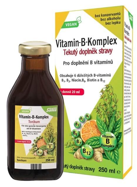 Zobrazit detail výrobku Salus Floradix Vitamin B komplex 250 ml