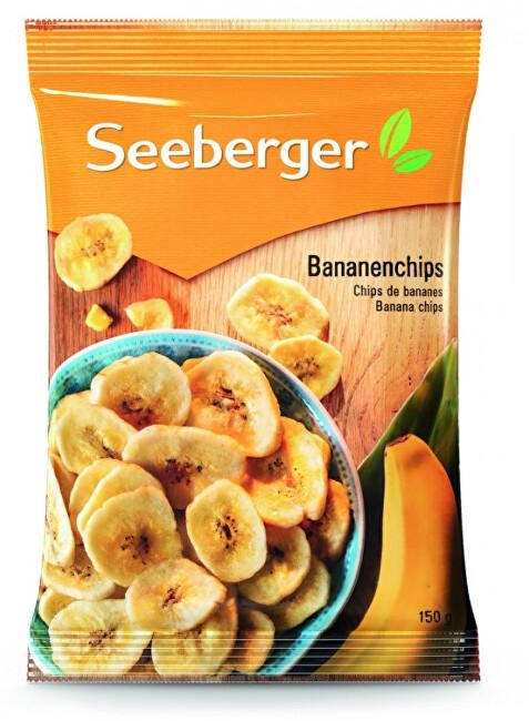 Seeberger Banánové chipsy 150 g