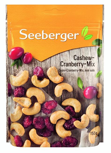Zobrazit detail výrobku Seeberger Kešu - brusinkový mix 150 g