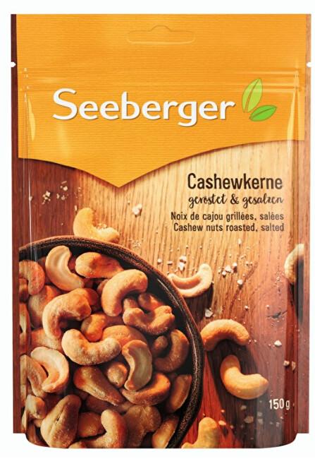 Zobrazit detail výrobku Seeberger Kešu oříšky pražené a solené 150 g