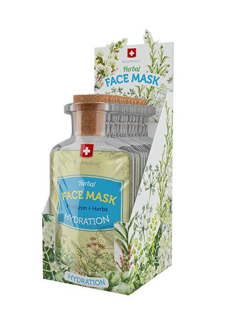 Zobrazit detail výrobku Swissmedicus Herbal Face Mask -  Hydratation 24 x 17 ml