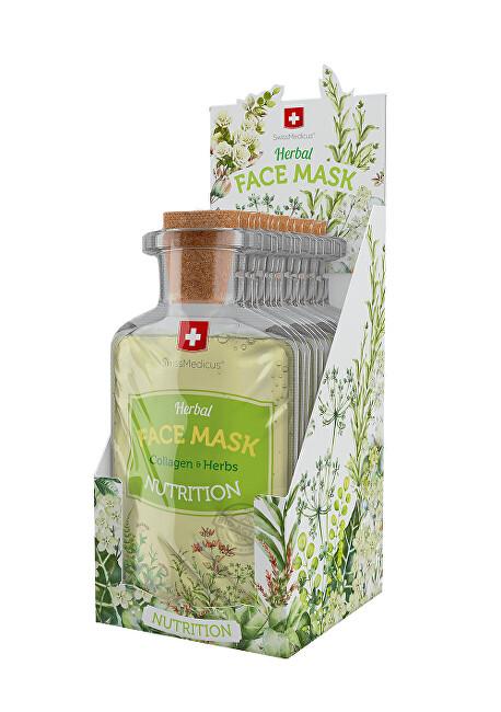 Zobrazit detail výrobku Swissmedicus Herbal Face Mask -  Nutrition 24 x 17 ml