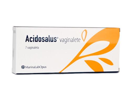 Zobrazit detail výrobku Synergia ACIDOSALUS® Vaginalete 7 čípků