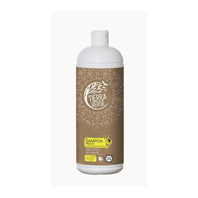 Zobrazit detail výrobku Tierra Verde Březový šampon na suché vlasy s vůní citronové trávy 1 l
