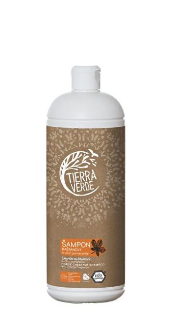 Zobrazit detail výrobku Tierra Verde Kaštanový šampon pro posílení vlasů s vůní pomeranče 1 l