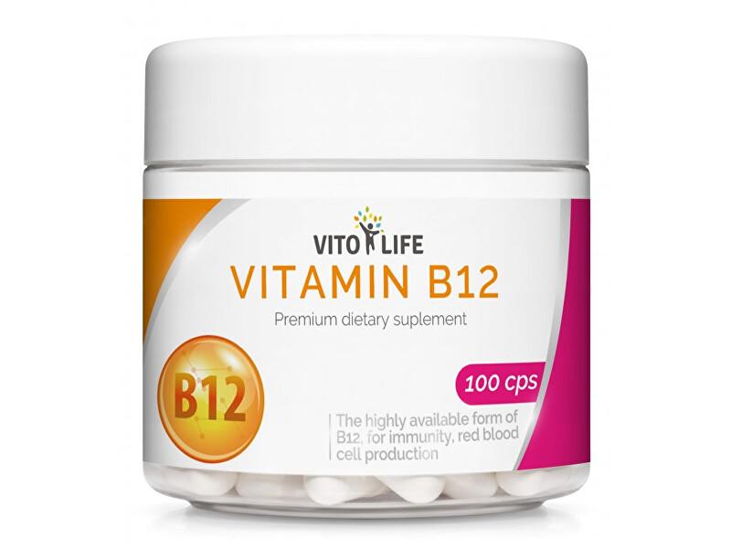 Vito life Vitamín B12 1000 mcg, 100 tobolek