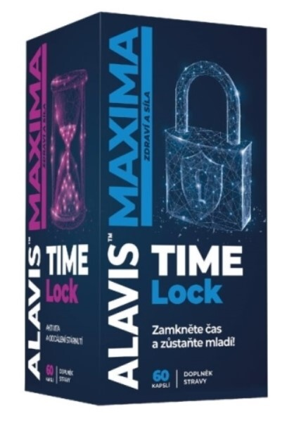 Zobrazit detail výrobku Alavis ALAVIS MAXIMA TIME Lock 60 kapslí