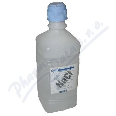 Zobrazit detail výrobku BAXTER HEALTHCARE LIMITED, NORFOLK 0.9% Sodium Chloride Pour Bottles 1000ml 6ks - SLEVA - NEKOMPLETNÍ BALÍČEK, CHYBÍ DVĚ LÁHEV