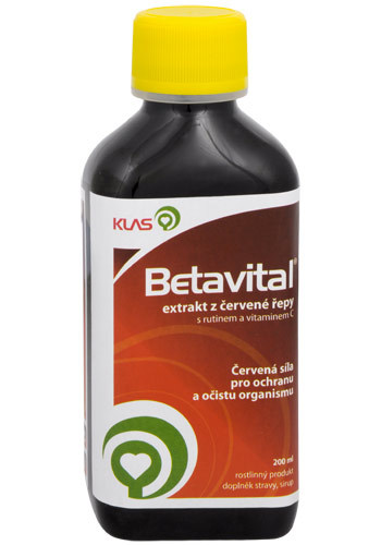 Zobrazit detail výrobku Klas Betavital 200 ml - SLEVA - POŠKOZENÁ ETIKETA