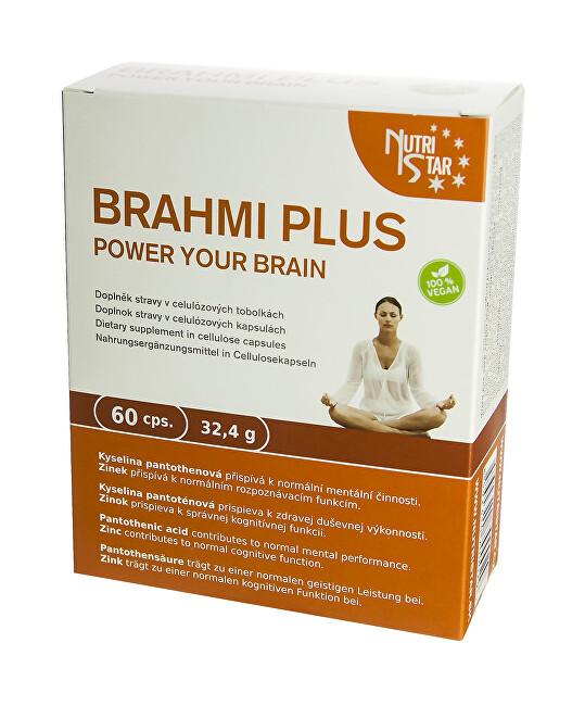 Zobrazit detail výrobku Nutristar Brahmi Plus 60 kapslí - SLEVA - POMAČKANÁ KRABIČKA