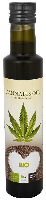 Zobrazit detail výrobku Natural Medicaments Cannabis oil - BIO Konopný olej 250 ml - SLEVA - POŠKOZENÁ ETIKETA