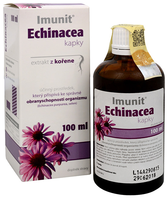 Zobrazit detail výrobku Simply You Imunit Echinacea kapky extrakt z kořene 100 ml - SLEVA - POŠKOZENÁ KRABIČKA