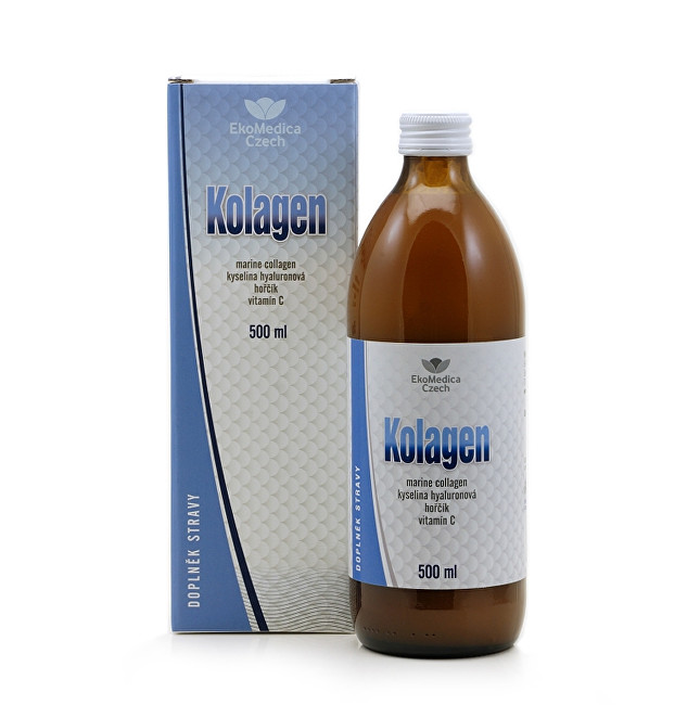 Zobrazit detail výrobku EkoMedica Czech Kolagen 500 ml - SLEVA - bez krabičky, poškozená etiketa