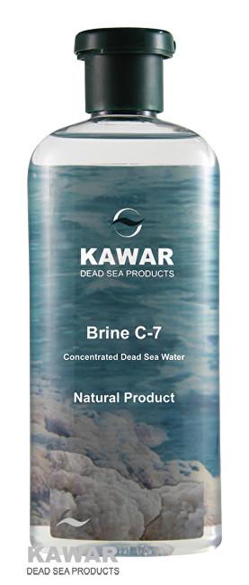 Kawar Koncentrovaná voda z Mrtvého moře Brine C-7 400 ml - SLEVA - PRASKLÉ VÍČKO
